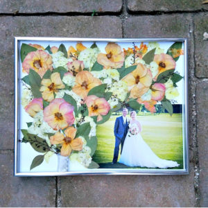 Wedding Photo and Bouquet Preservation